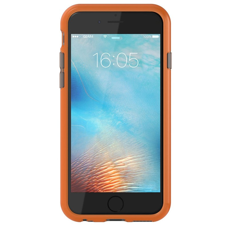 Gear4 3DO JumpSuit iPhone 6 / 6S Smoke/Orange - 2
