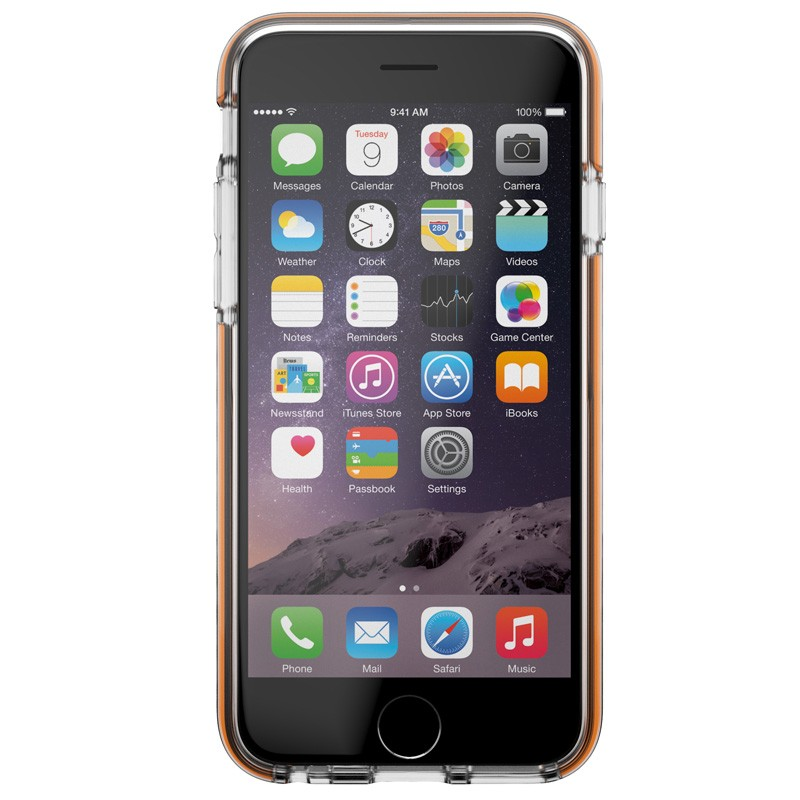 Gear4 3DO JumpSuit iPhone 6 Plus / 6S Plus Clear/Orange - 2