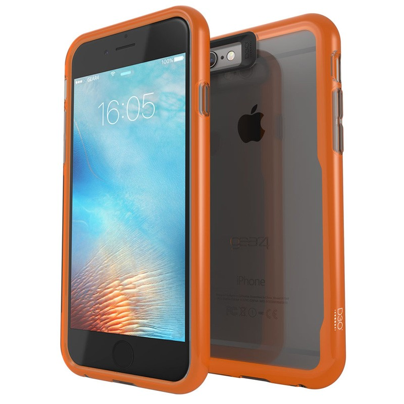 Gear4 3DO JumpSuit iPhone 6 Plus / 6S Plus Smoke/Orange - 1