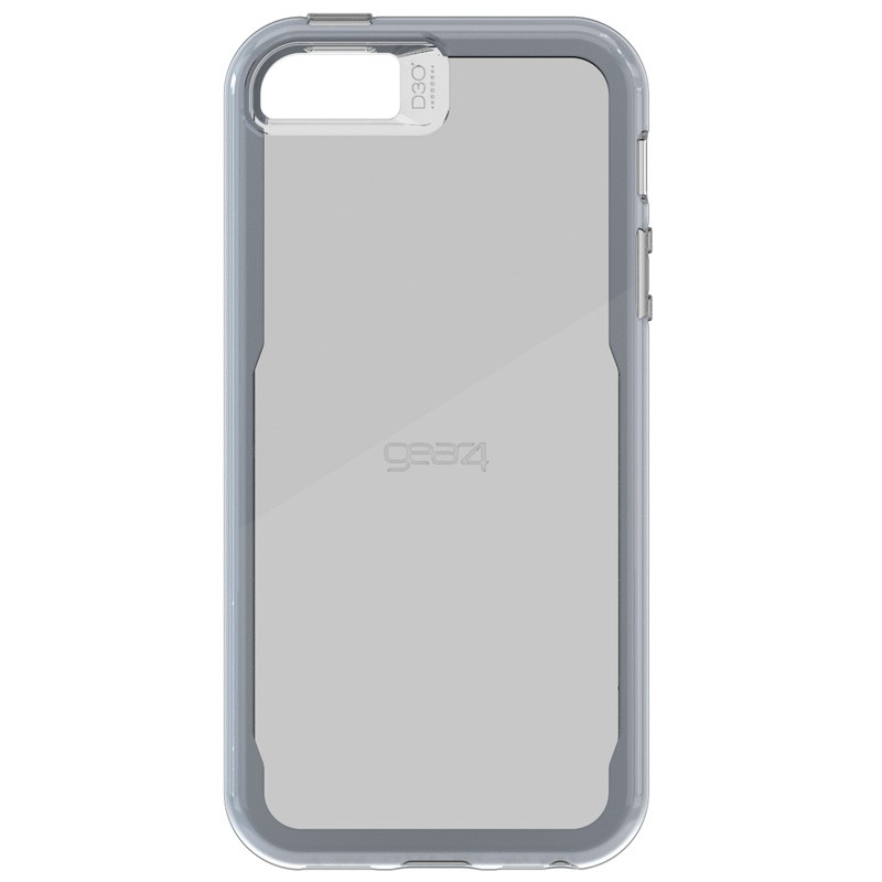 Gear4 3DO JumpSuit Tone iPhone SE/5S/5 Grey/Clear - 2