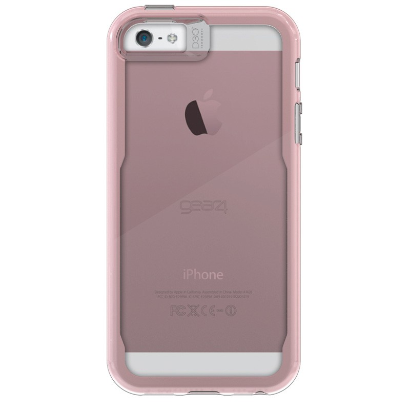 Gear4 3DO JumpSuit Tone iPhone SE/5S/5 Rose Gold/Clear - 3