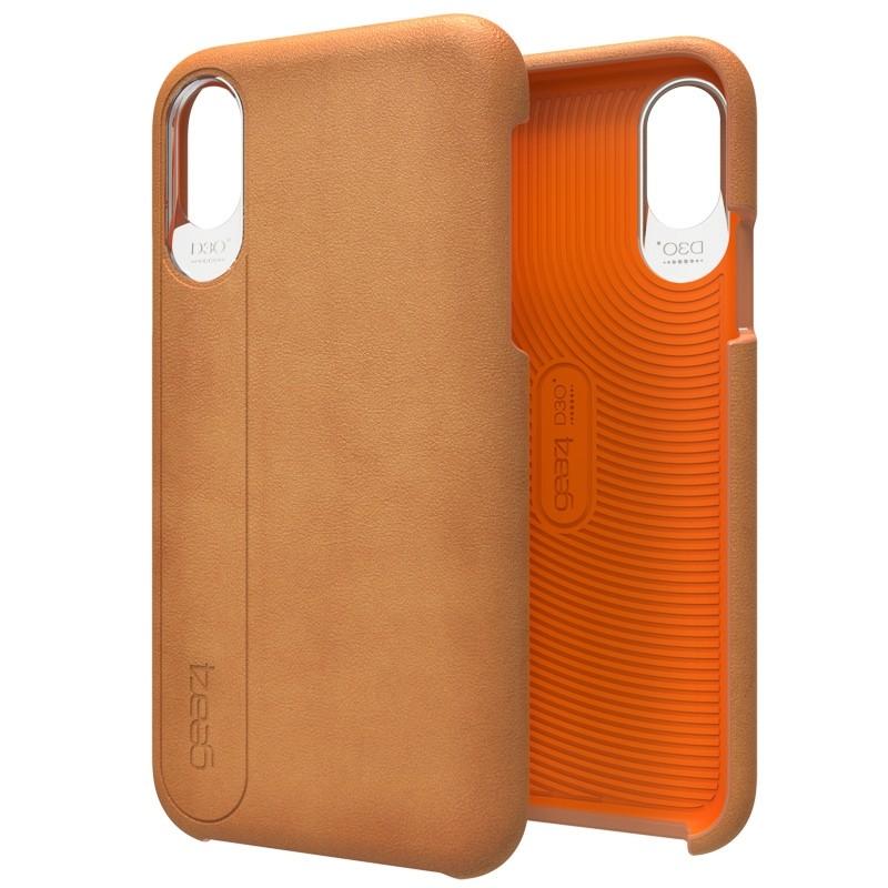 Gear4 Knightsbridge D3O iPhone X/Xs Hoes Brown - 1