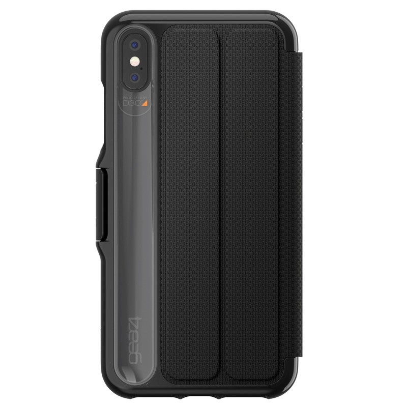 Gear4 Oxford iPhone XS Max Zwart 02