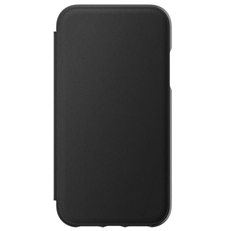 Gear4 Oxford Leather iPhone XR Lederen Hoesje Zwart 01