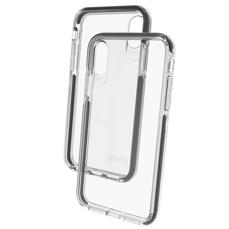 Gear4 Piccadilly Apple iPhone X/Xs Hoesje Black - 2