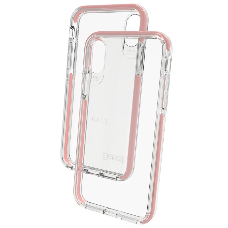Gear4 Piccadilly Apple iPhone X/Xs Hoesje Rose Gold - 2
