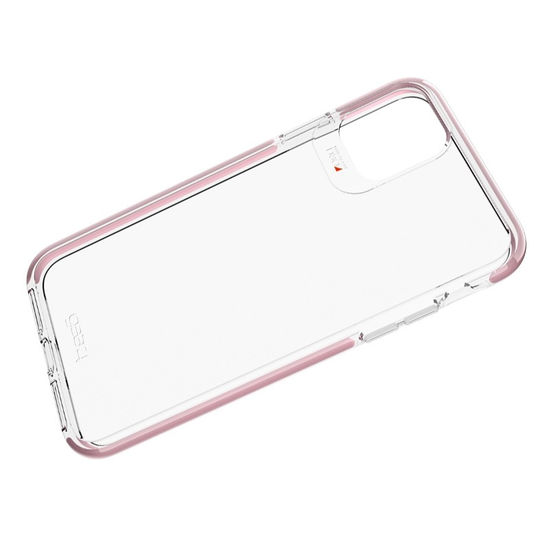 Gear4 Piccadilly iPhone 11 Pro Hoesje Roze transparant 02