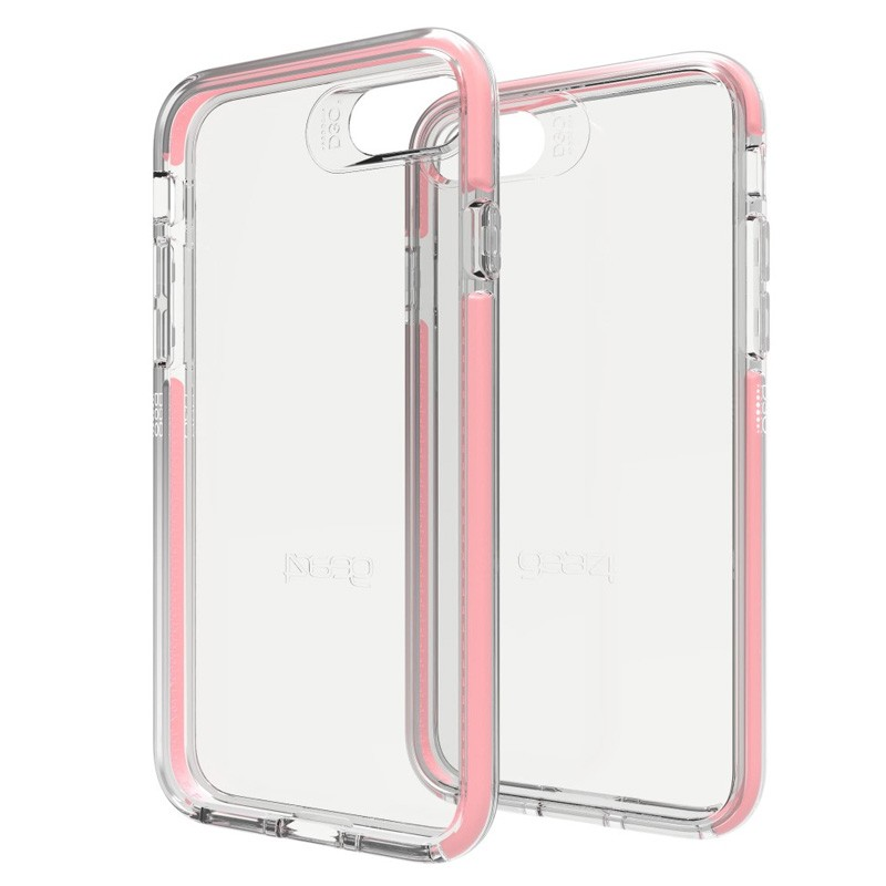 Gear4 Piccadilly iPhone 7 Rose Gold/Clear - 1
