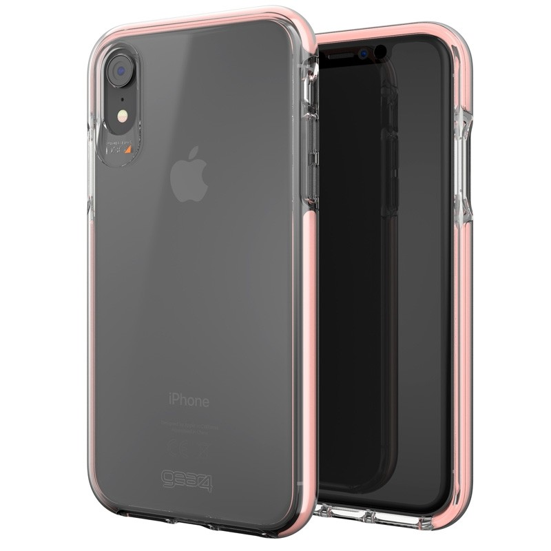 Gear4 Piccadilly iPhone XR Hoesje Rose / Transparant 06