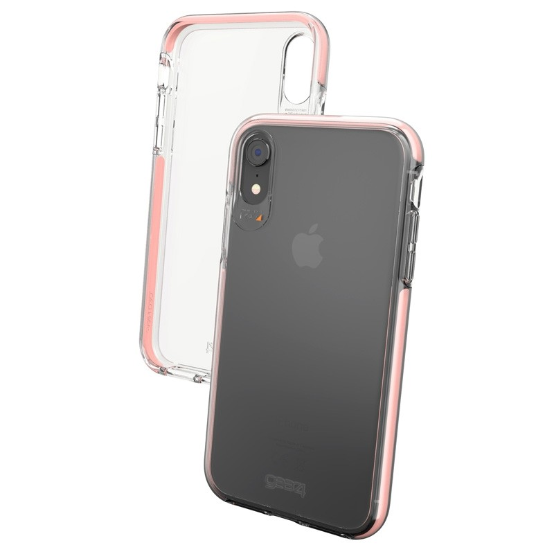 Gear4 Piccadilly iPhone XR Hoesje Rose / Transparant 04