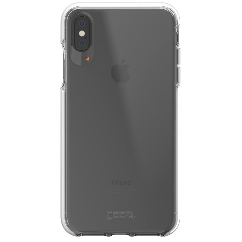 Gear4 Piccadilly voor Apple iPhone XS Max wit/Transparant 01