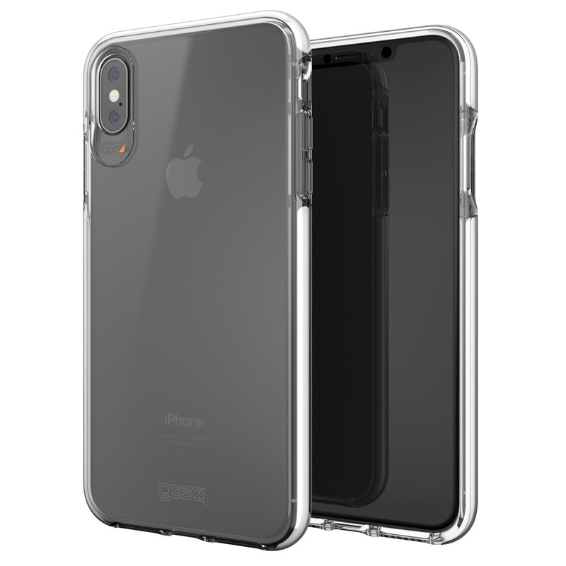Gear4 Piccadilly voor Apple iPhone XS Max wit/Transparant 05