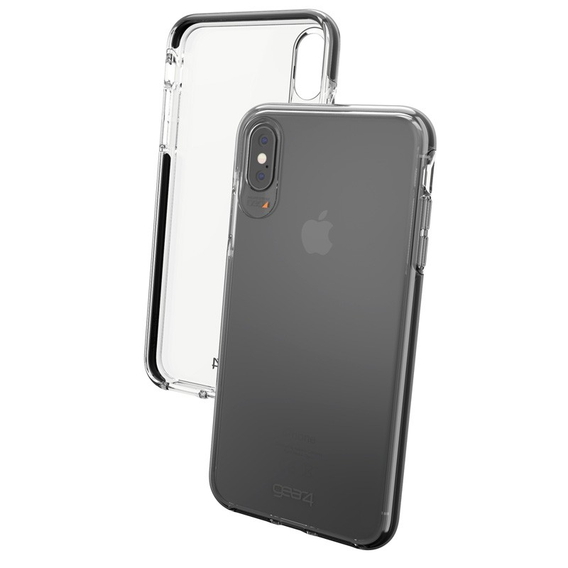 Gear4 Piccadilly iPhone XS Max zwart/tranparant 04