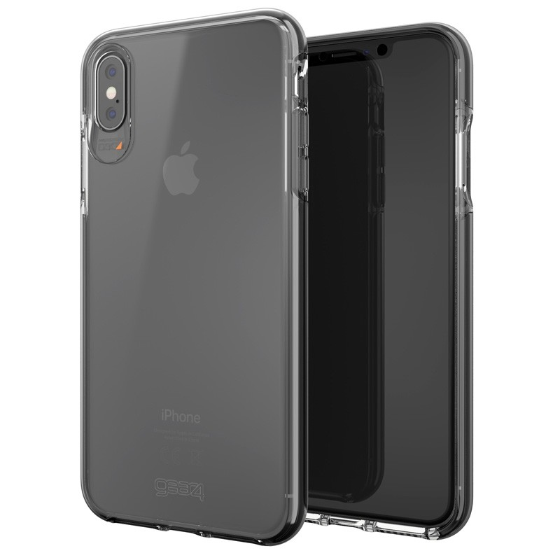 Gear4 Piccadilly iPhone XS Max zwart/tranparant 05