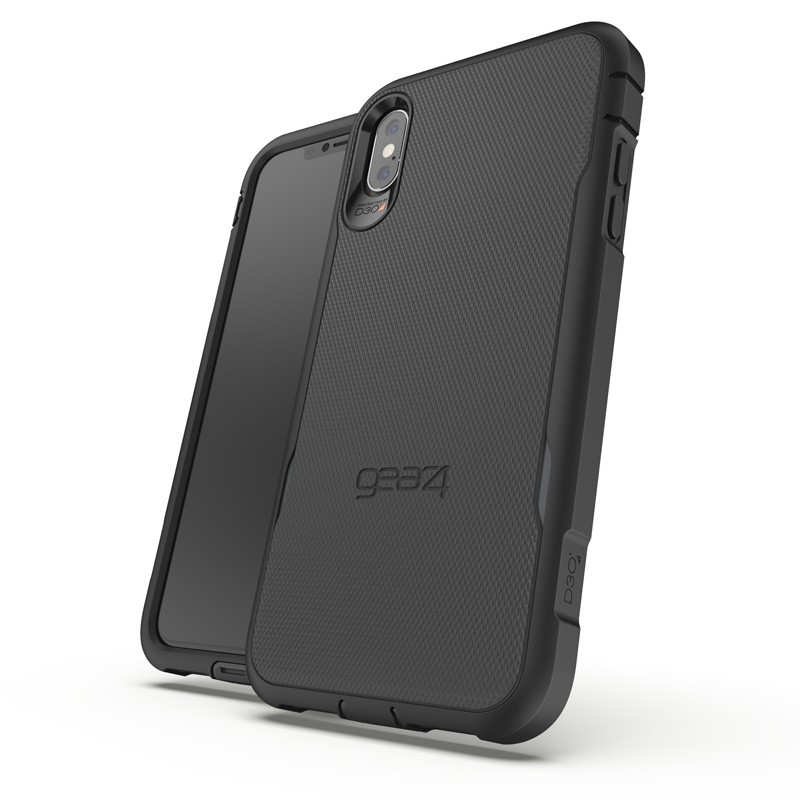 Gear4 Platoon Case voor iPhone XS Max Zwart 04