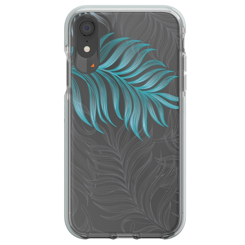 Gear4 Victoria iPhone XR Hoesje Jungle Transparant 01