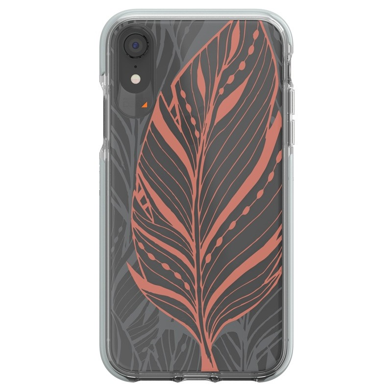 Gear4 Victoria iPhone XR Hoesje Tribal Transparant 0