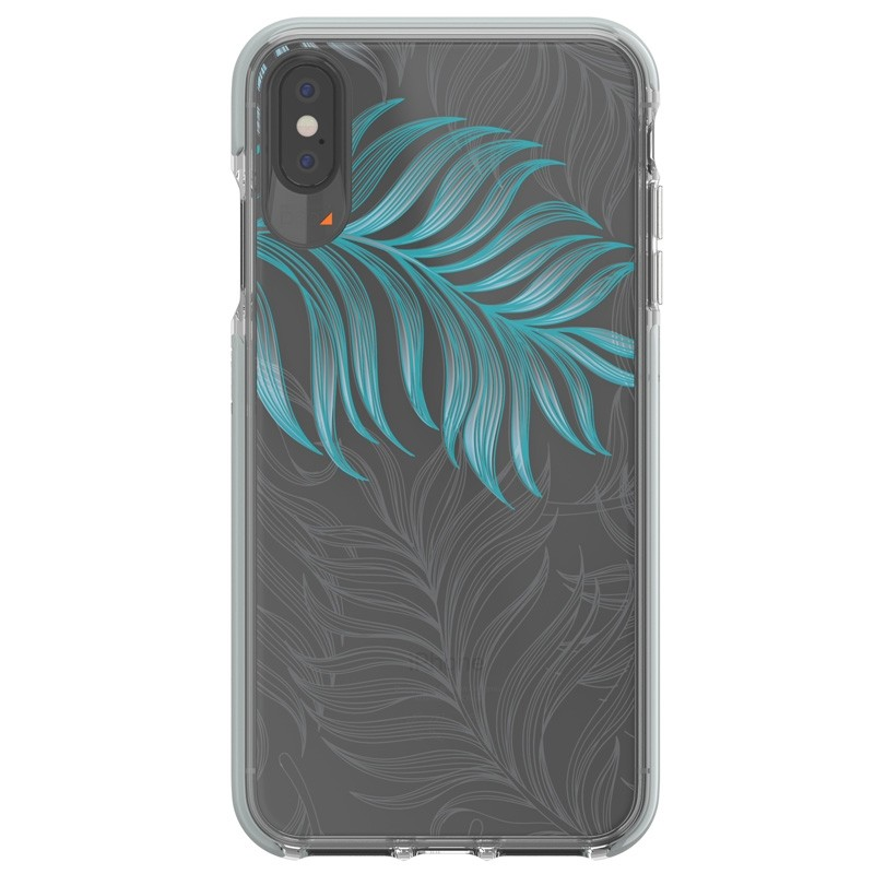 Gear4 Victoria iPhone XS Max hoesje Jungle/Transparant 01