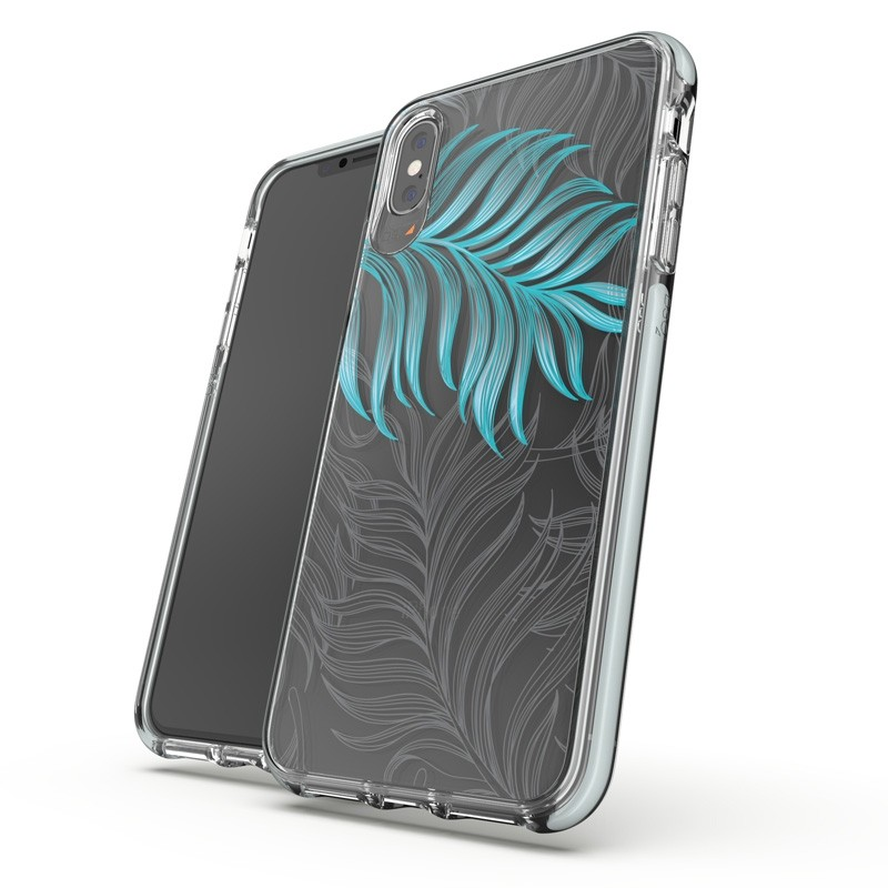 Gear4 Victoria iPhone XS Max hoesje Jungle/Transparant 03
