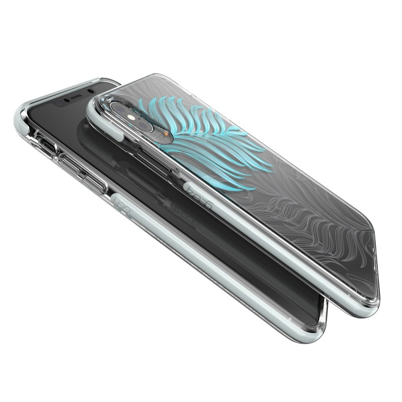 Gear4 Victoria iPhone XS Max hoesje Jungle/Transparant 02