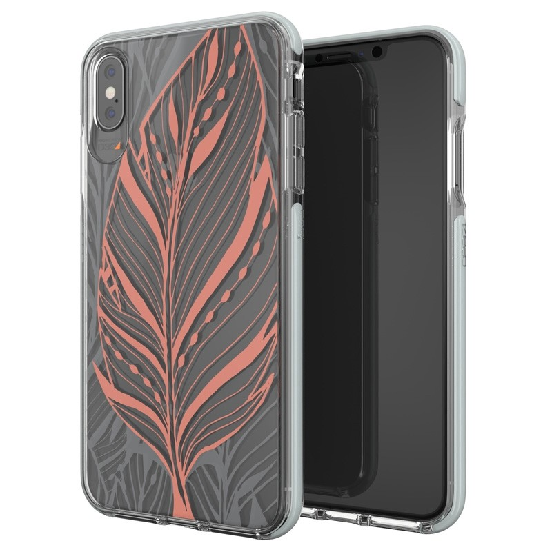 Gear4 Victoria iPhone XS Max hoesje Tribal/Transparant 05