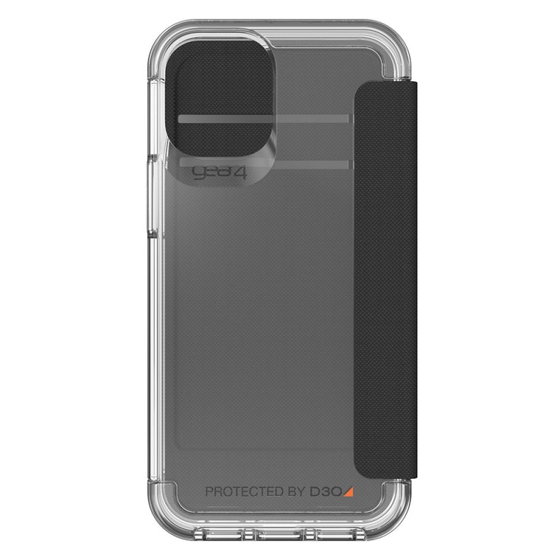 Gear4 Wembley Flip iPhone 12 / 12 Pro 6.1 Transparant - 2