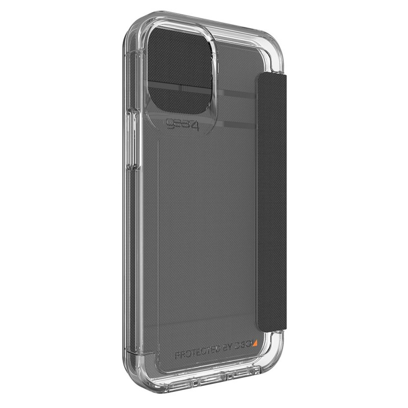 Gear4 Wembley Flip iPhone 12 / 12 Pro 6.1 Transparant - 3