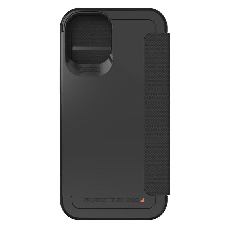 Gear4 Wembley Flip iPhone 12 Mini Zwart - 5