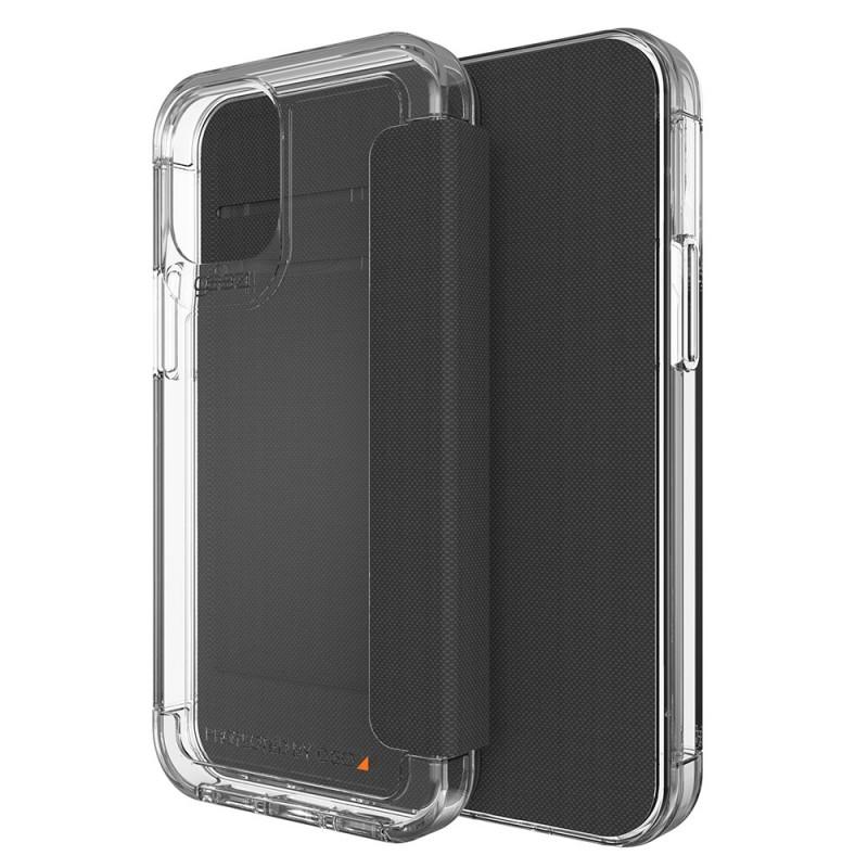 Gear4 Wembley Flip iPhone 12 Pro Max Transparant - 1