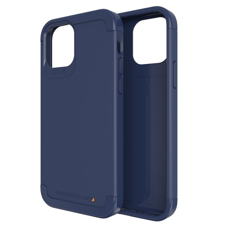 Gear4 Wembley Palette iPhone 12 / 12 Pro 6.1 Blauw - 1