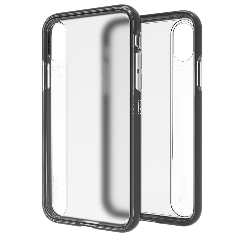Gear4 Windsor iPhone X/Xs Hoesje Black - 1
