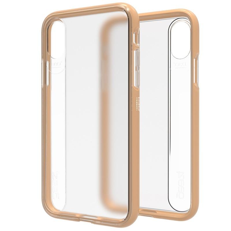 Gear4 Windsor iPhone X/Xs Hoesje Gold - 1
