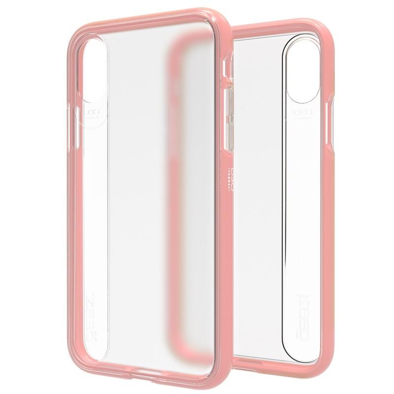Gear4 Windsor iPhone X/Xs Hoesje Rose Gold - 1