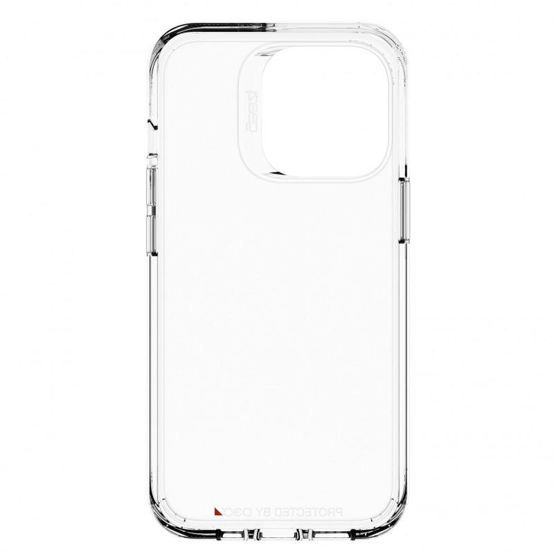 Gear4 Crystal Palace iPhone 13 Pro Hoesje Clear 04