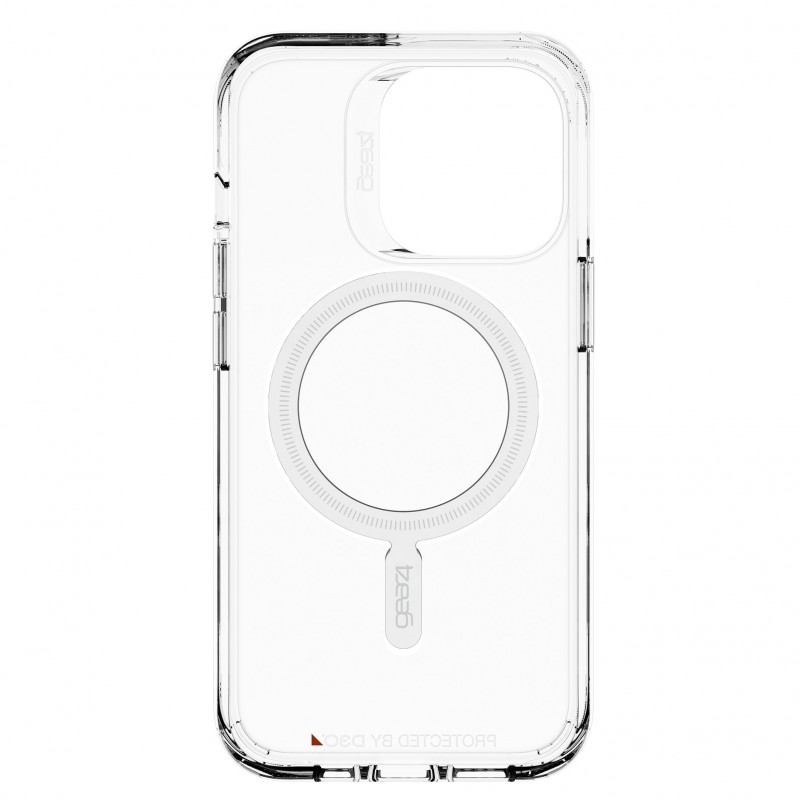 Gear4 Crystal Palace Snap iPhone 13 Pro MagSafe Hoesje Clear 05