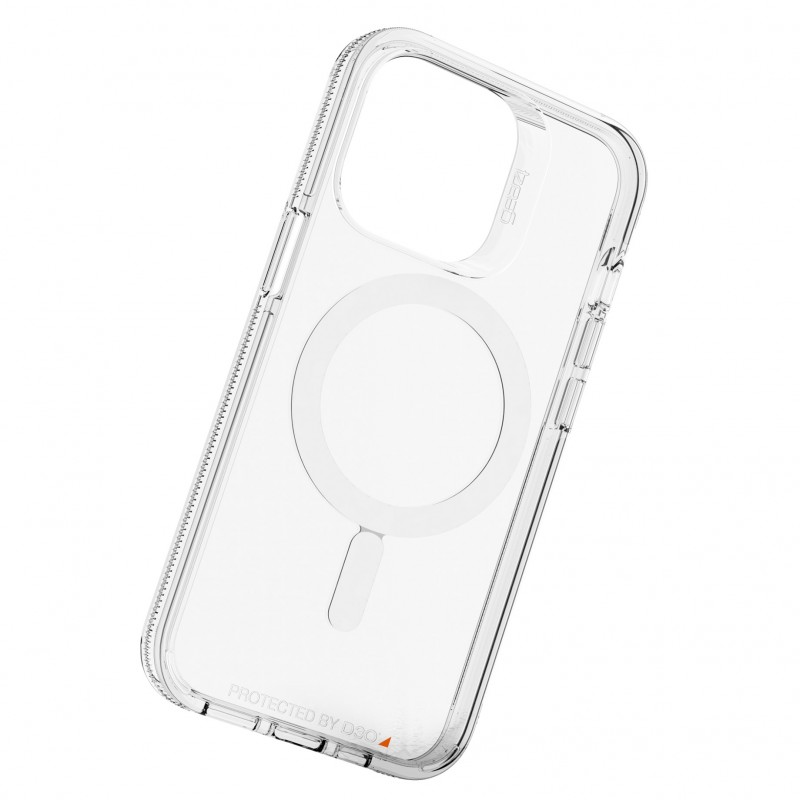 Gear4 Crystal Palace Snap iPhone 13 Pro MagSafe Hoesje Clear 02