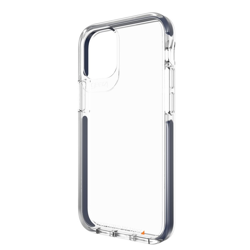 Gear4 - Piccadilly iPhone 12 Mini 5.4 inch Blauw/Transparant 04