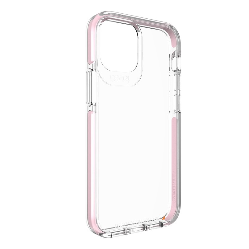 Gear4 Piccadilly iPhone 12 Mini 5.4 inch clear/roze 04