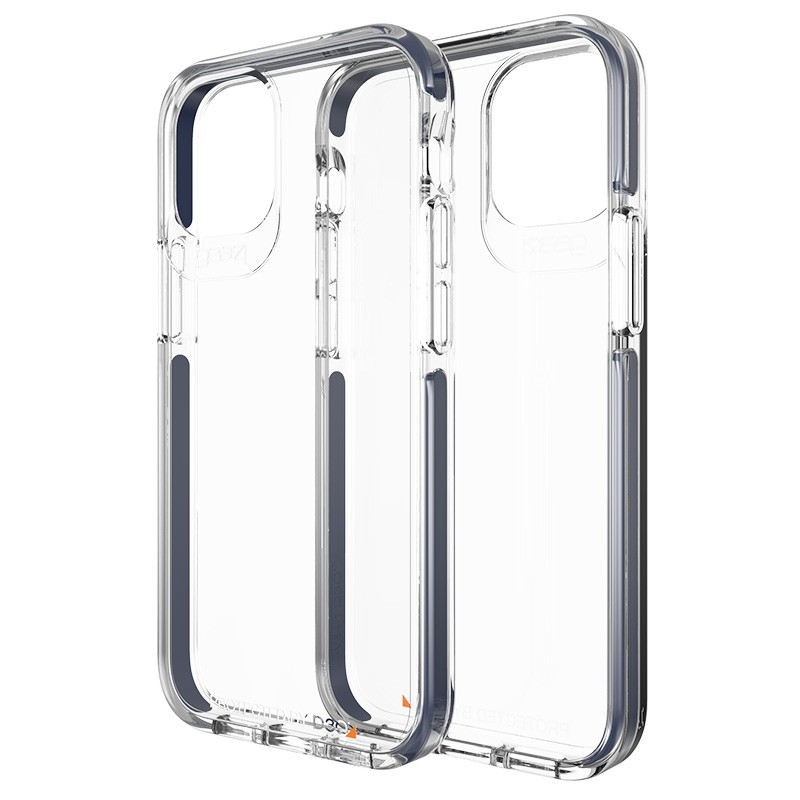 Gear4 Piccadilly iPhone 12 Pro Max 6.7 inch clear/blauw 01