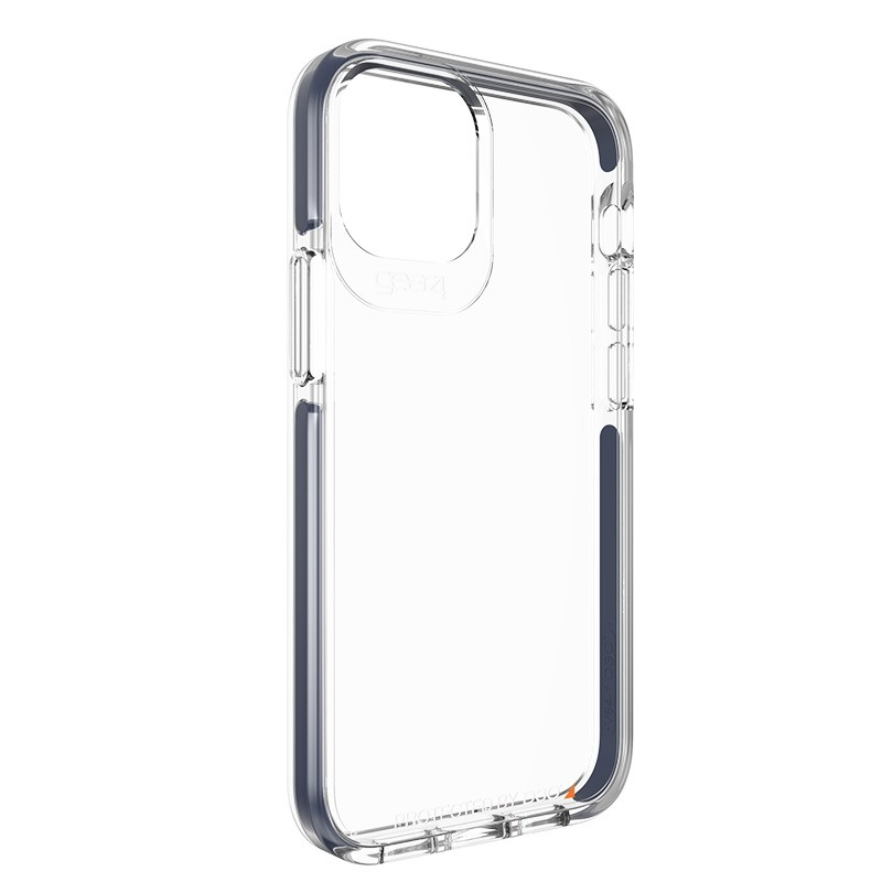 Gear4 Piccadilly iPhone 12 Pro Max 6.7 inch clear/blauw 05