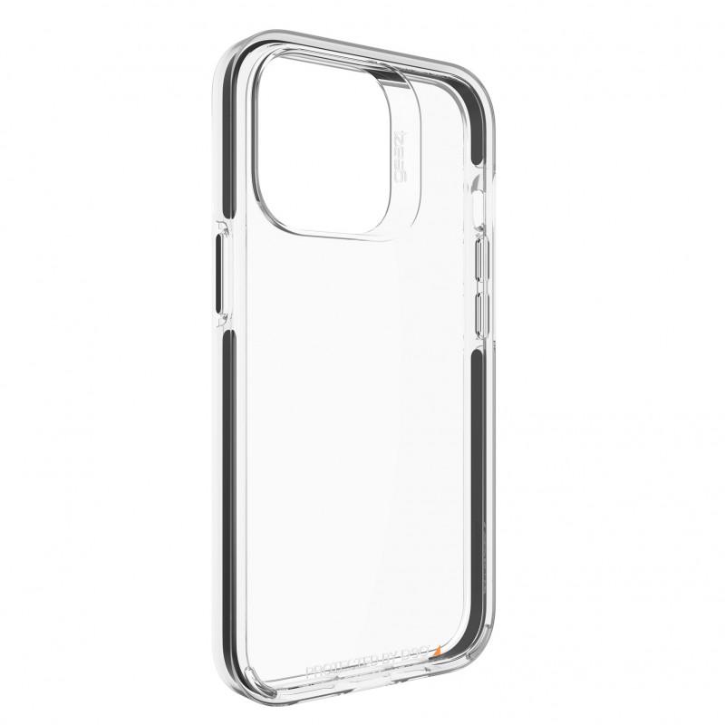 Gear4 Santa Cruz iPhone 13 Pro Hoesje Clear Black 07