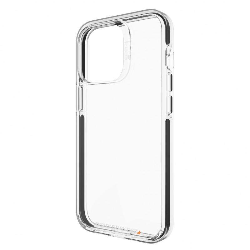 Gear4 Santa Cruz iPhone 13 Pro Hoesje Clear Black 03
