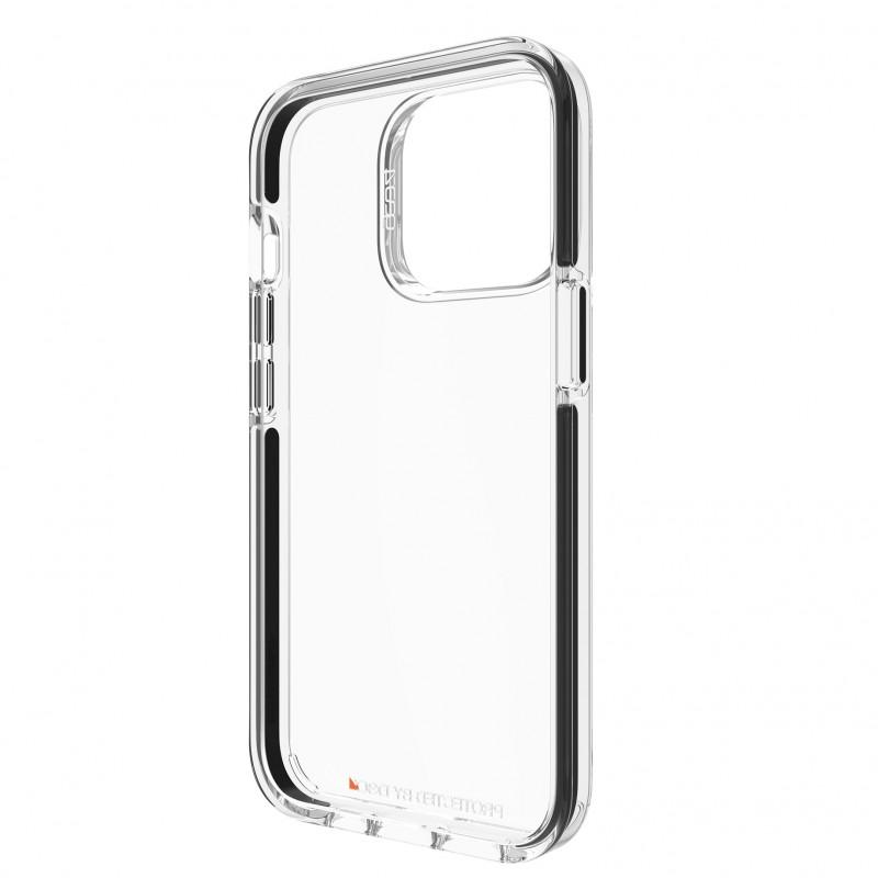 Gear4 Santa Cruz iPhone 13 Pro Hoesje Clear Black 06