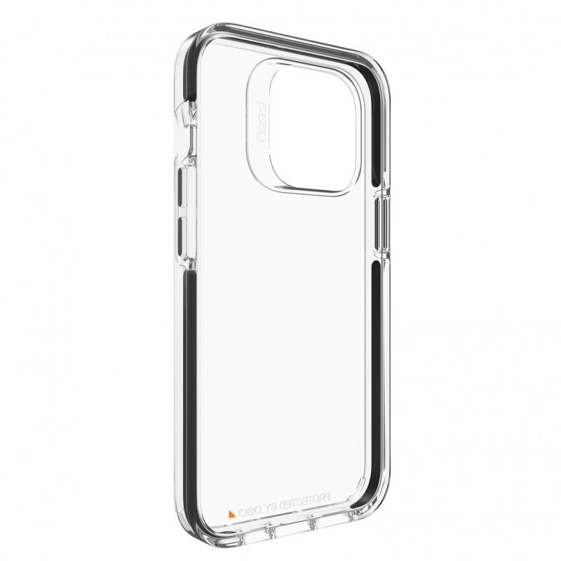 Gear4 Santa Cruz iPhone 13 Pro Hoesje Clear Black 02