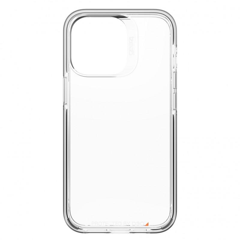 Gear4 Santa Cruz iPhone 13 Pro Hoesje Clear Black 05