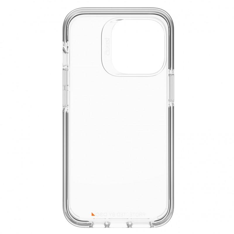 Gear4 Santa Cruz iPhone 13 Pro Hoesje Clear Black 04