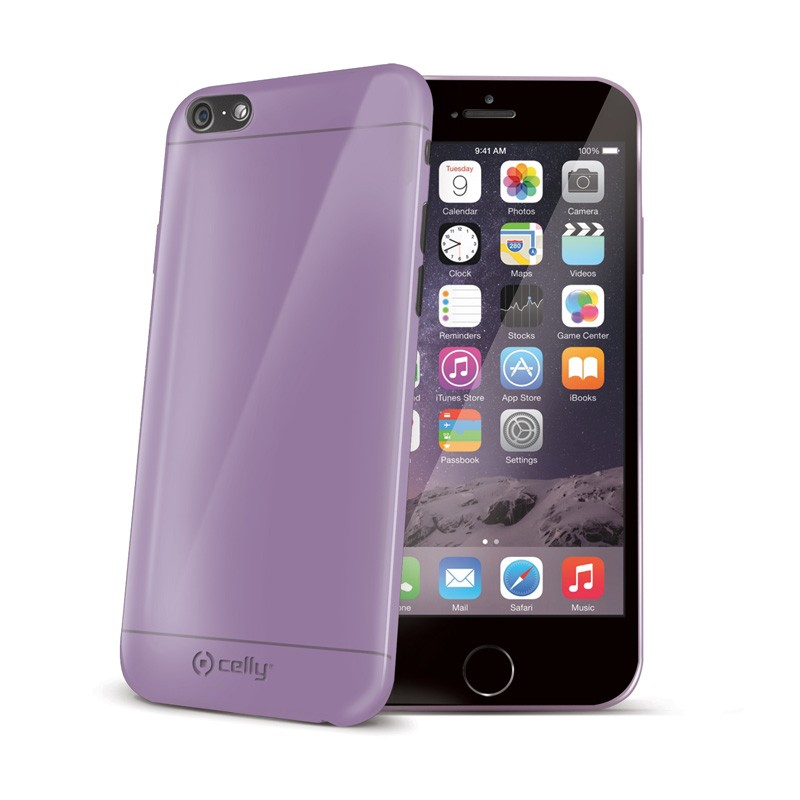 Celly GelSkin iPhone 6 Purple - 1