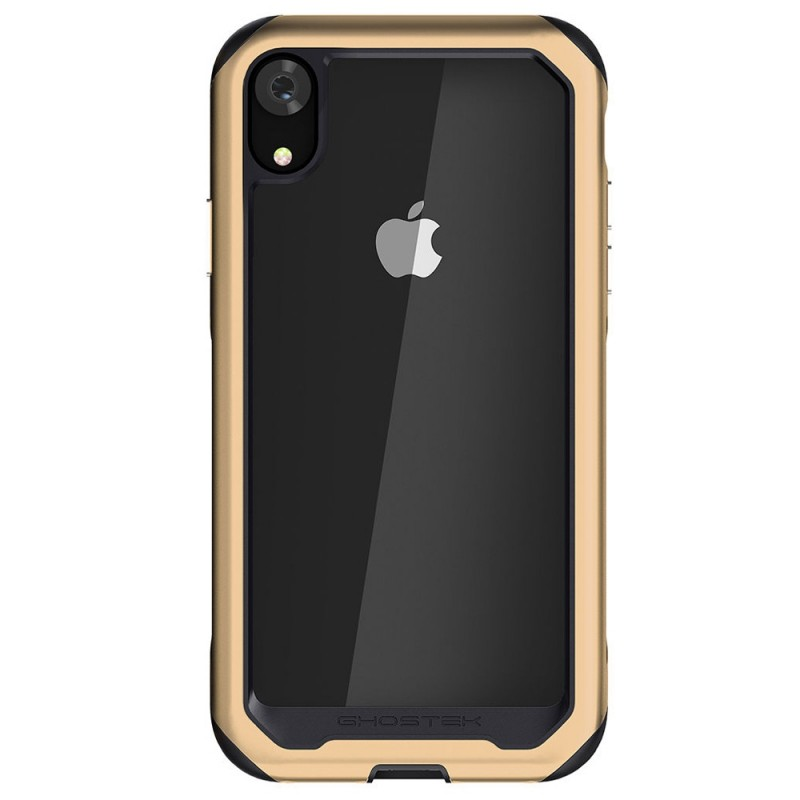 Gostek Atomic Slim 2 iPhone XR Goud/Transparant - 2