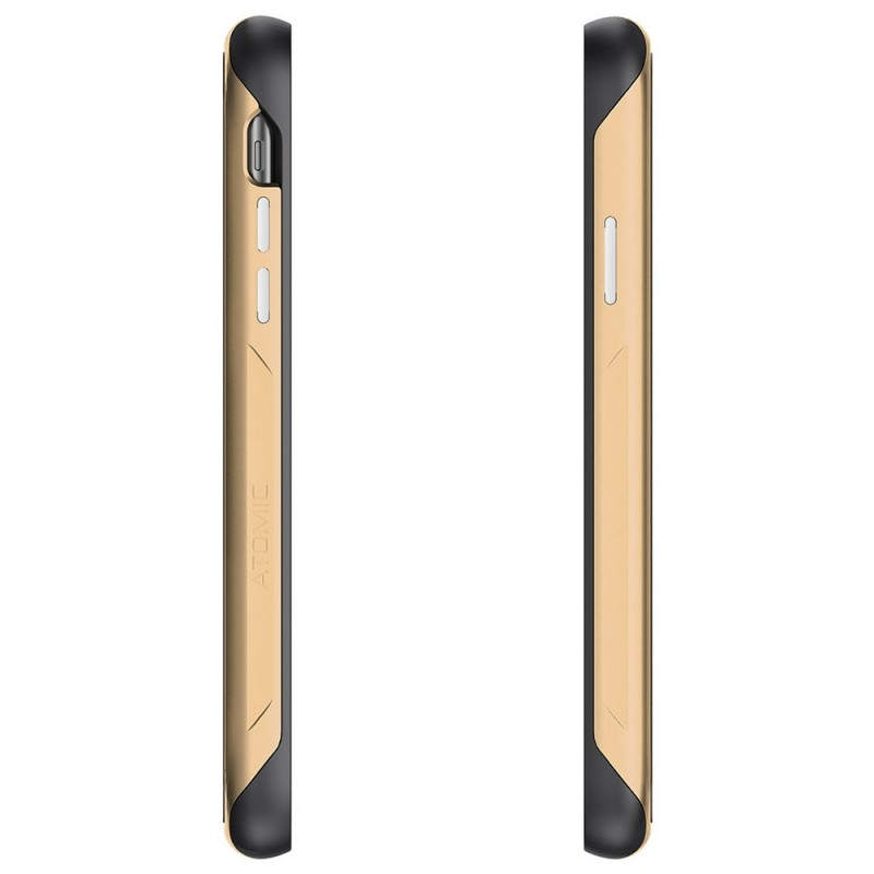 Gostek Atomic Slim 2 iPhone XR Goud/Transparant - 4