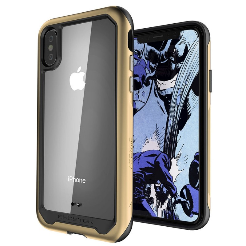 Ghostek Atomic Slim voor iPhone XS Max Goud - 1